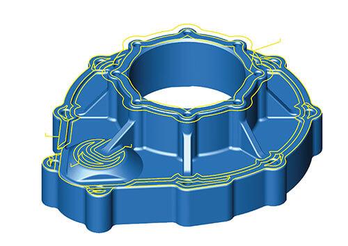 hyperMILL 3D-Bearbeitung